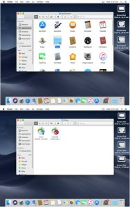 Image showing the Cisco VPN installed on a Mac